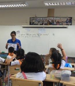 """Teaching"" hyper intelligent 8 year olds."
