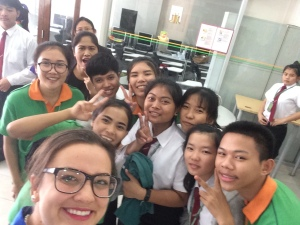 7 Eleven vocational school selfie!